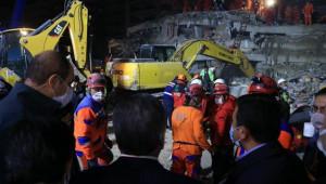 İzmir depreminde vefat ve yaralı sayısı artıyor