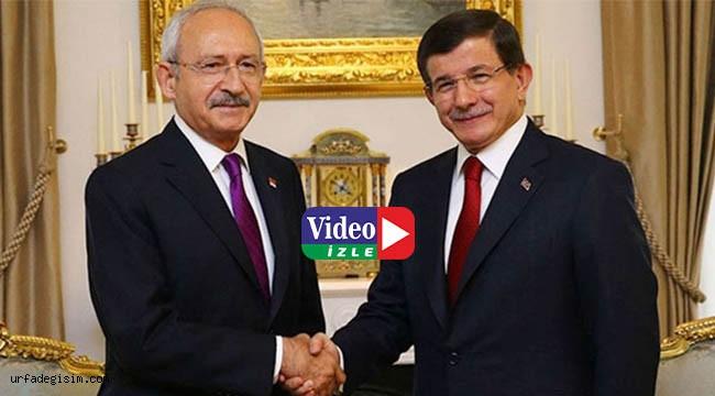 Kılıçdaroğlu, Davutoğlu ile görüştü