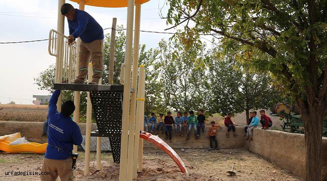 Kırsalda oyun grupları kuruluyor