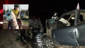 Viranşehir'de kaza : 2 ölü 1 ağır yaralı
