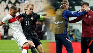 Milli maçta oynayan Vida'nın testi pozitif çıktı
