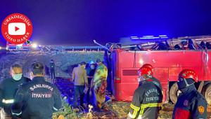 Urfa'da kaza:1 ölü 29 yaralı