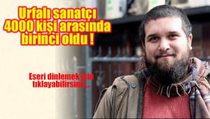 Sedat Anar 'Halfeti' eseriyle birinci oldu
