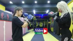 Şiddet gördükten sonra kick boks şampiyonu oldu