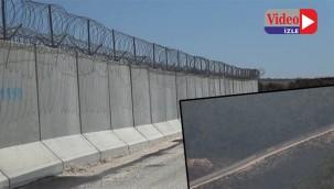 Sınırda 832 kilometre duvar kurulumu tamamlandı