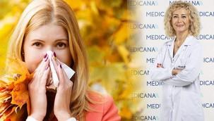 Sonbahar alerjilerine dikkat