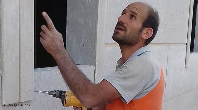 Urfa'da elektrik akımına kapılan işçi öldü