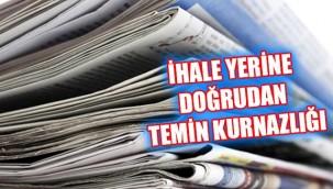 Urfa'da gazetelere 'ihale' darbesi