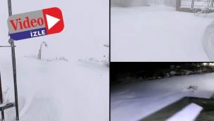 Urfa'da mevsimin  ilk karı yağdı