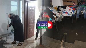 Urfa'da yağmur su baskınlarına neden oldu