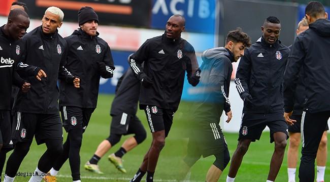 Beşiktaş, antrenmana  başladı