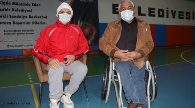 Engelli basketbolcular ligin özlemini yaşıyor