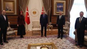 Erdoğan, Siverek'in yeni başkanını tebrik etti