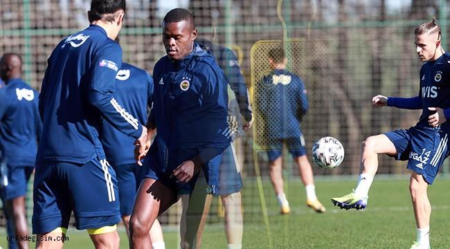 Fenerbahçe maç hazırlıkları sürdürüyor