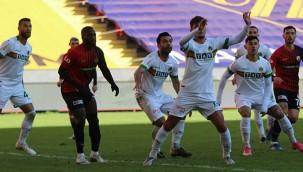 Gaziantep FK, lider Alanyaspor'u dize getirdi