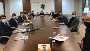 Gıda OSB'de yer tahsisi ile toplandı