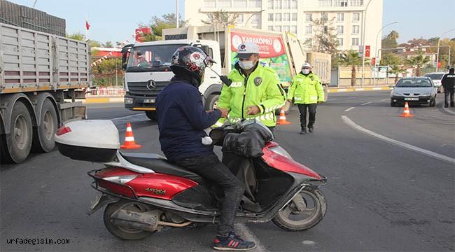 Kısıtlamayı ihlal eden 57 kişiye ceza kesildi