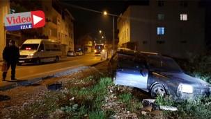 Polis kovalamaması kazaya dönüştü