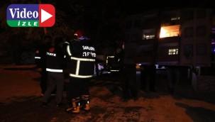Şanlıurfa'da ev yangını paniğe neden oldu