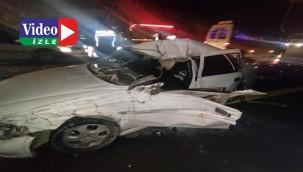 Trafik kazası çok sayıda yaralı var