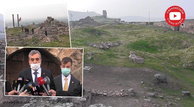 Urfa Kalesi'nde tarih gün yüzüne çıkıyor