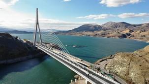 16 ili bağlayan Köprü yarın açılıyor