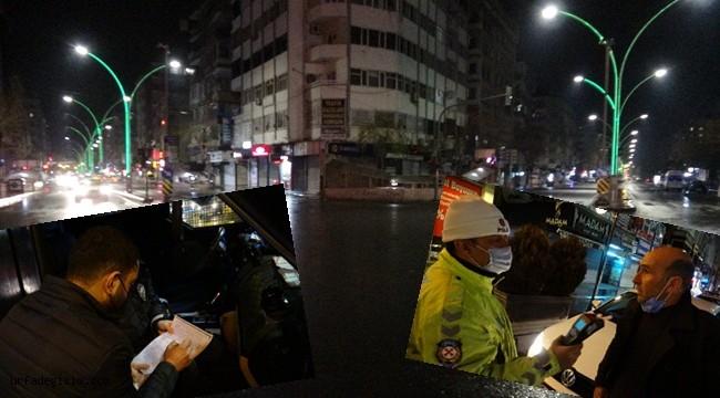 Alkollü sürücüler cezadan kaçamadı