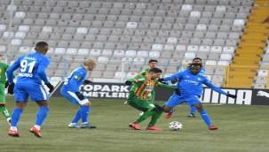 BB Erzurumspor: 1 - Alanyaspor: 1
