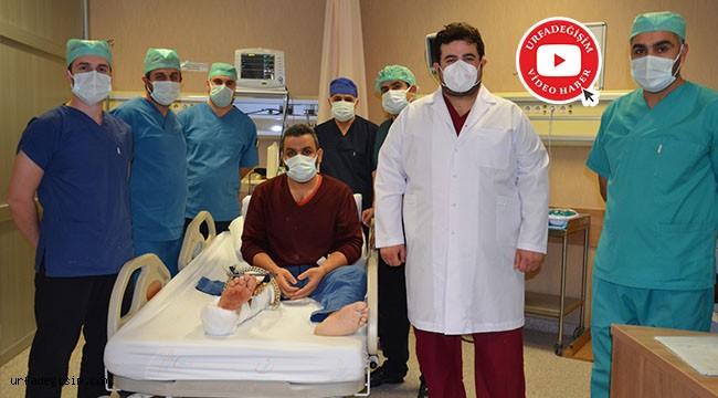 Bölgede ilk defa ameliyatı yapıldı