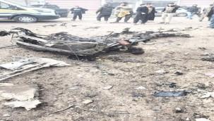 Bombalı saldırı: 1 ölü, 8 yaralı