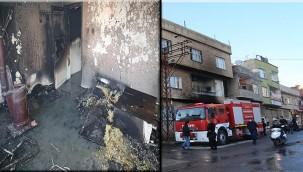 Çıkan yangında 2 çocuk hayatını kaybetti.