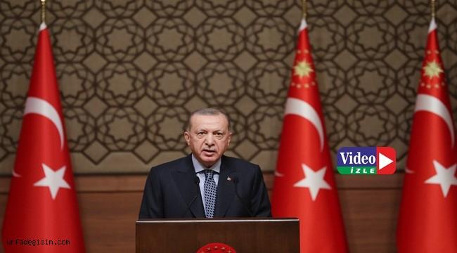Erdoğan: ''Terör propagandasına izin vermeyeceğiz''