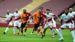 Galatasaray - Antalyaspor maçından puan çıkmadı