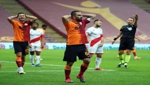 Galatasaray liderlikten alıkonuldu