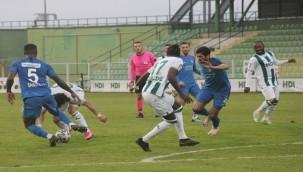 Giresunspor - Tuzlaspor maçı 3 golle sonuçlandı