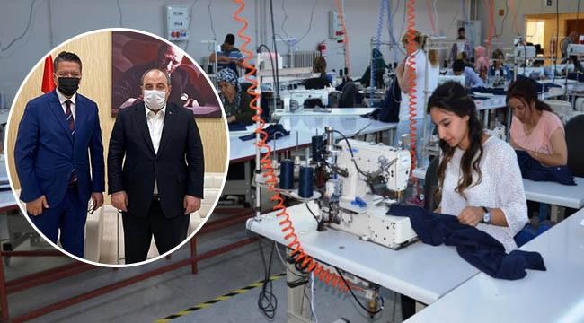 Halfeti'ye yeni fabrika müjdesi