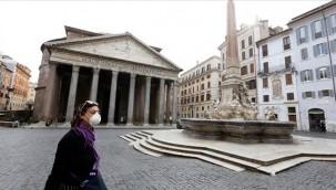 İtalya'da vak'a sayısı