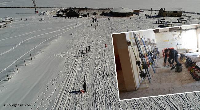 Karacadağ Kayak merkezi hizmete hazır