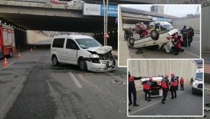 Karaköprü'de feci kaza: 2 yaralı
