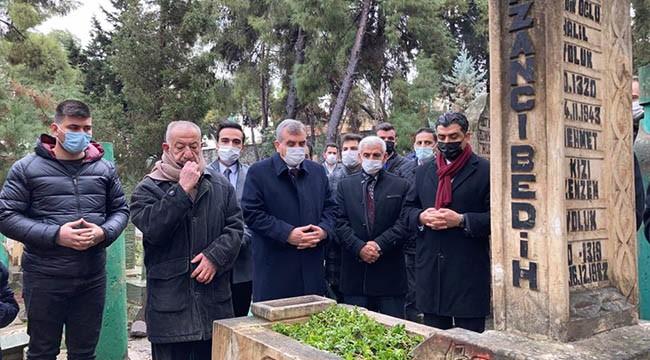 Kazancı Bedih, mezarı başında anıldı