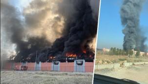 Osmanbey Kampüsünde yangın!