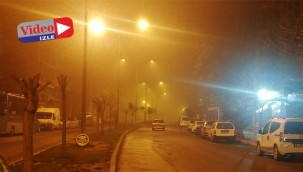 Şanlıurfa'da sabaha karşı sis etkili oldu