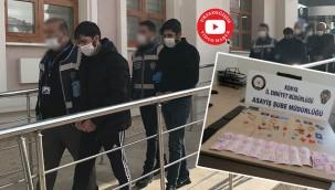 Telefon dolandırıcıları Urfa girişinde yakalandı