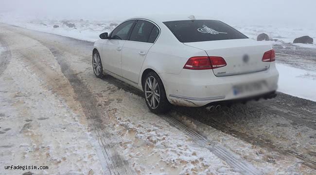 Urfa'da kar etkili oldu