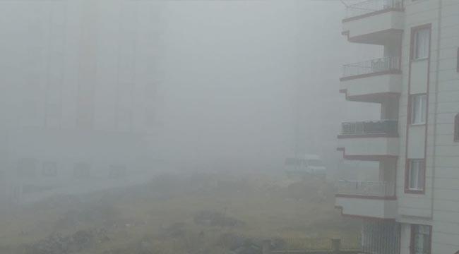 Urfa, güne yoğun sisle uyandı
