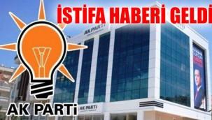 AK Parti  İl Başkan yardımcısı istifa etti!