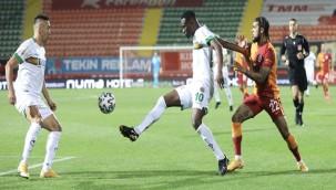 Aytemiz Alanyaspor: 0 - Galatasaray: 1