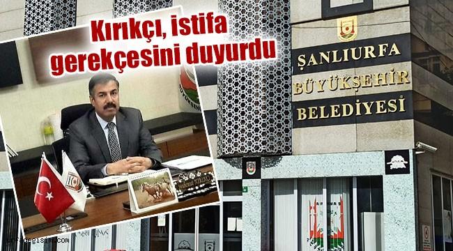 Büyükşehir Belediyesinde flaş istifa!