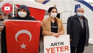 Diyarbakır annelerinden PKK'ya tepki!