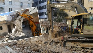 Haliliye, metruk ve riskli yapıları yıkıyor